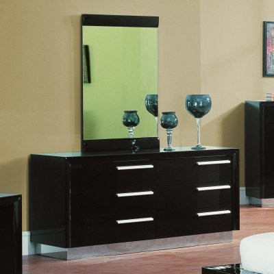 Carmell 6 Drawer Dresser - Wenge modern-dressers-chests-and-bedroom-armoires