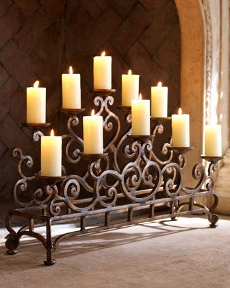 Fireplace Candelabrum traditional fireplace accessories