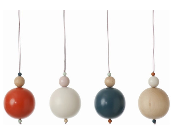 FermLiving Pearls On String - Like 3-D dots, FermLiving's Pearls On String are a fun way to add a little bit of color and interest to a space.