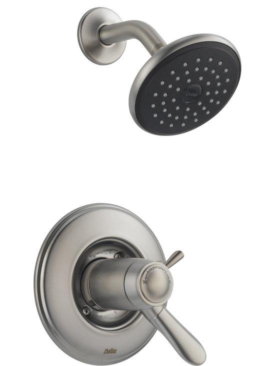 Delta Lahara® TempAssure® 17T Series Shower Trim - Delta Lahara® TempAssure® 17T Series Shower Trim, Brilliance® Stainless Finish, T17T238-SS