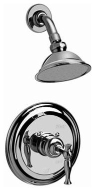 Graff - Traditional Pressure Balancing Shower Set-G-7115-LM22S-AU contemporary-bathroom-faucets-and-showerheads