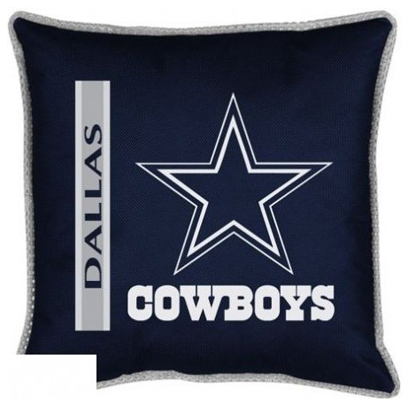Dallas Cowboys Sideline Toss Pillow Game Room And Bar