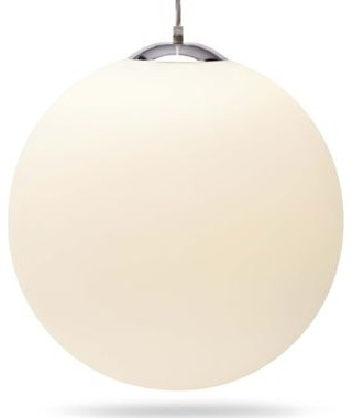 Happy Chic by Jonathan Adler Glass Globe Ceiling Light Fixture modern-ceiling-lighting