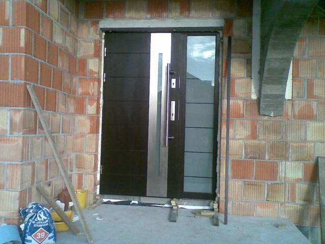 Stainless Steel Modern Exterior Door Contemporary