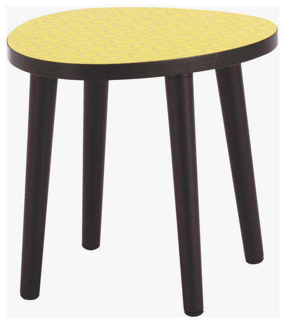 Wilf Yellow Small Occasional Table modern-side-tables-and-end-tables