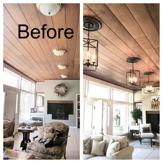P ranch style living room makeover for Ranch style living room