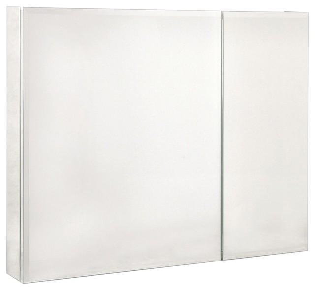 Bi-View Beveled Mirror 36 in. Medicine Cabine contemporary-medicine-cabinets