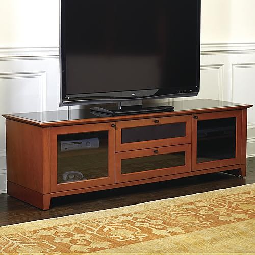 Nylah Home Theater Media Cabinet traditional-media-storage