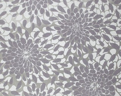 Toss The Bouquet Wallpaper In Plum And Metallic By York Wallcoverings contemporary-wallpaper
