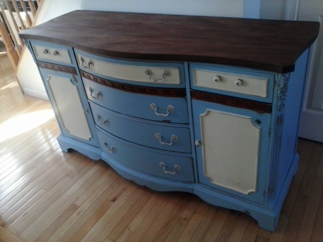 Painted Buffet - Eclectic - Buffets And Sideboards - dc metro - by Picked and Painted