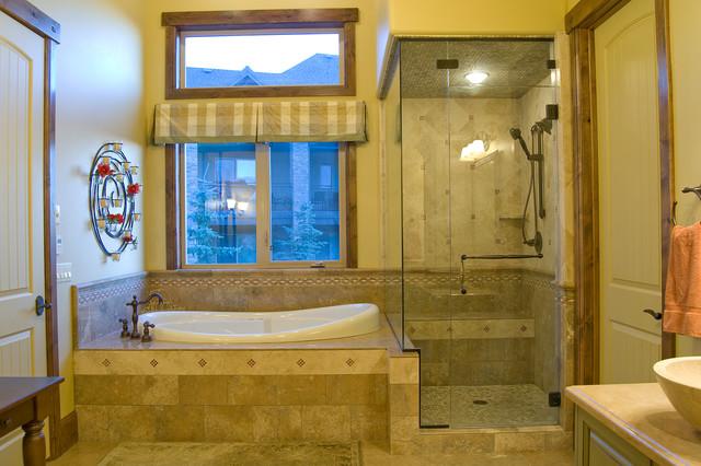 Bathrooms by Utah Home Builder, Cameo Homes Inc. traditional-bathroom