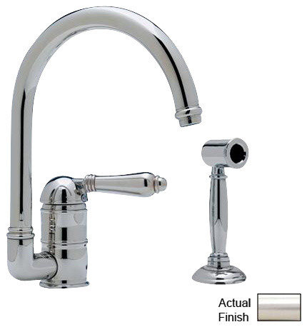Rohl Country Kitchen A3606LMWSSTN-2 Faucet traditional-kitchen-faucets