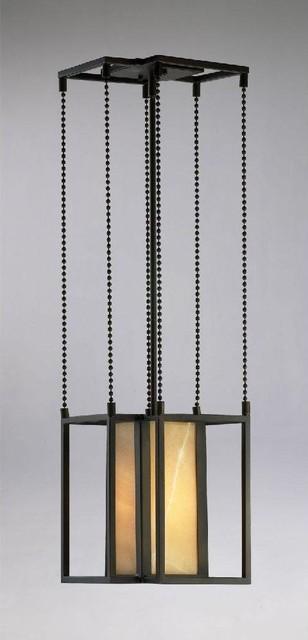 Cyan Small Geometric Pendant traditional-pendant-lighting