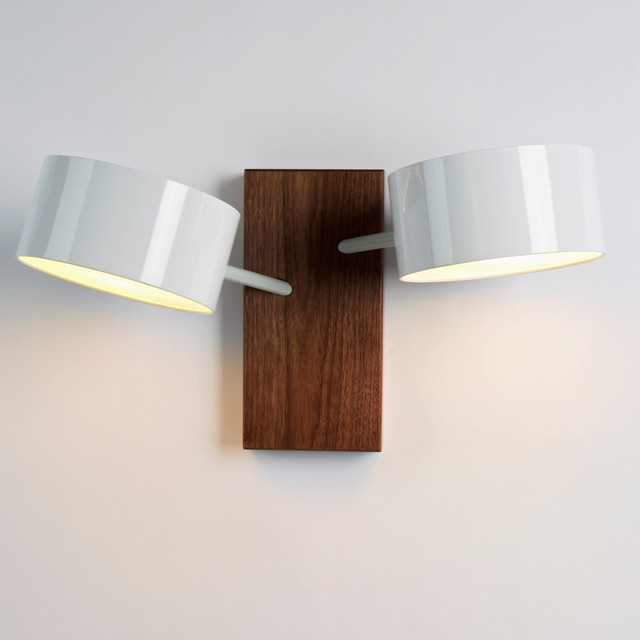 Roll & Hill Excel Double Sconce - modern - wall sconces - by