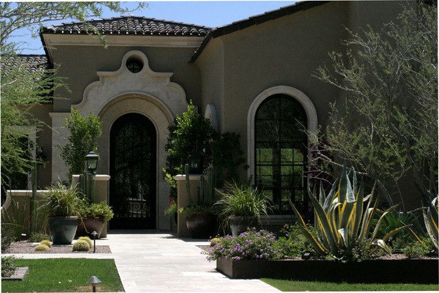 Yucca Residence mediterranean exterior