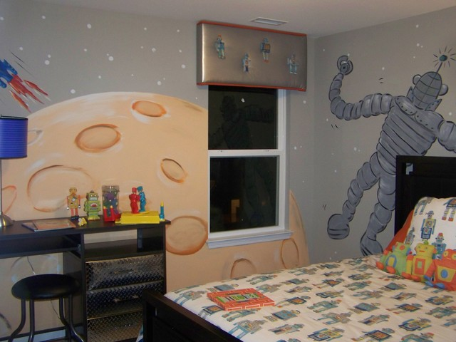 Modern Kids by Anita Roll Murals