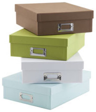 See Jane Work Basic Letter Box modern storage boxes