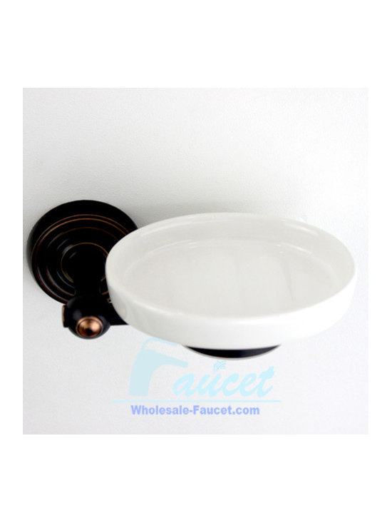 Oil Rubbed Bronze Bathroom Soap Dish - ●Wall mounted oil rubbed bronze bathroom soap dish K-114