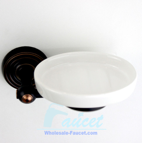 Oil Rubbed Bronze Bathroom Soap Dish traditional-soap-dishes-and-holders