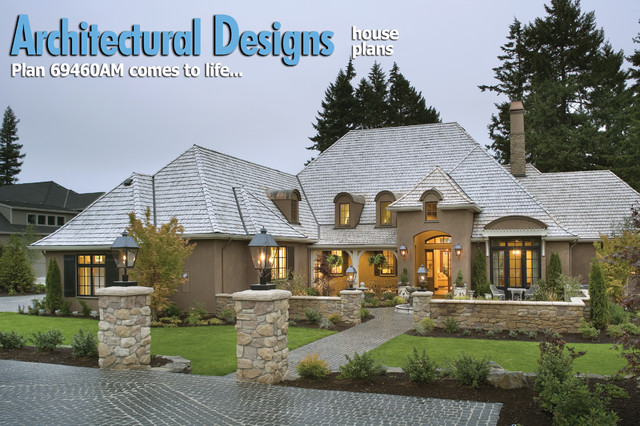 Plan 69460am energy efficient french country design for French home design exterior