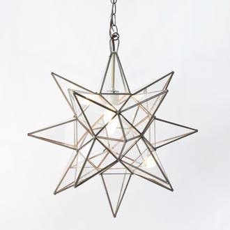 Star Pendant Chandelier eclectic-chandeliers