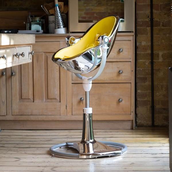 Bloom Fresco Chrome High Chair Silver Modern Ottawa