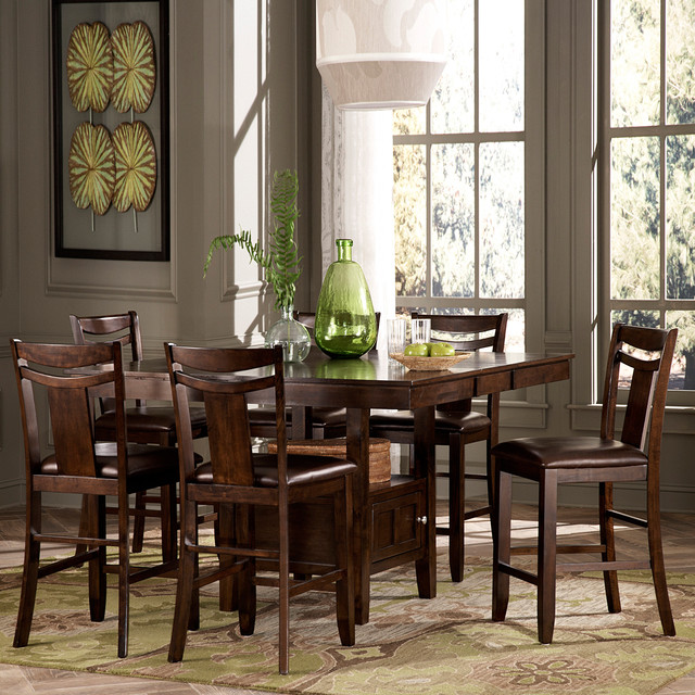 Counter Height Rustic Dining Sets : All Products / Kitchen / Kitchen & Dining Furniture / Dining Tables