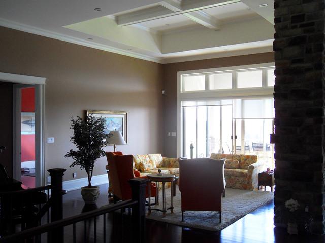 Bond Head Residence traditional-living-room