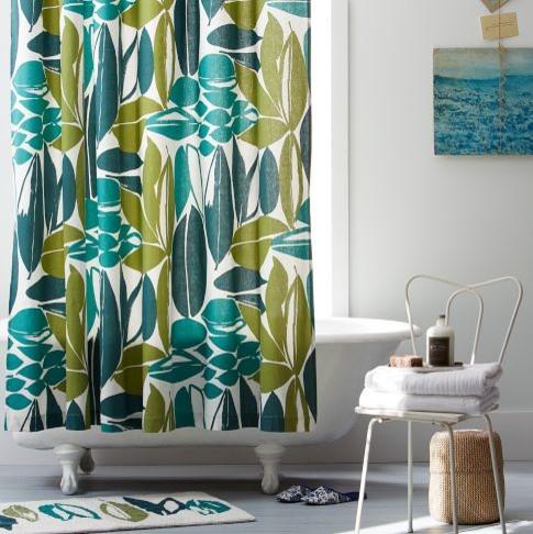 Rainforest Shower Curtain West Elm