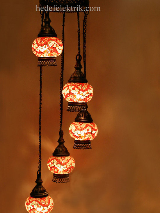 Turkish Style - Mosaic Lighting - Code: HD-04160_53