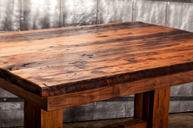 Good Cypress Table Traditional Dining Tables Kansas City By Moore