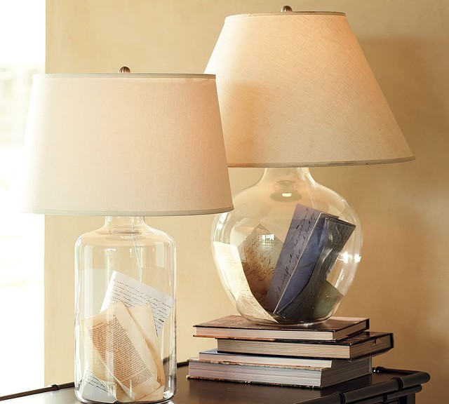 Bacchus Glass Table & Bedside Lamp modern table lamps