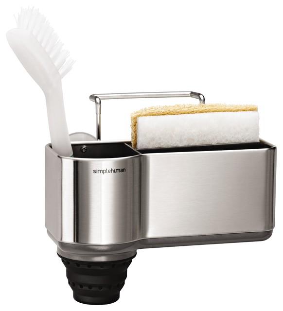 useful chic extras flexible kitchen sink sponge holder. Interior Design Ideas. Home Design Ideas