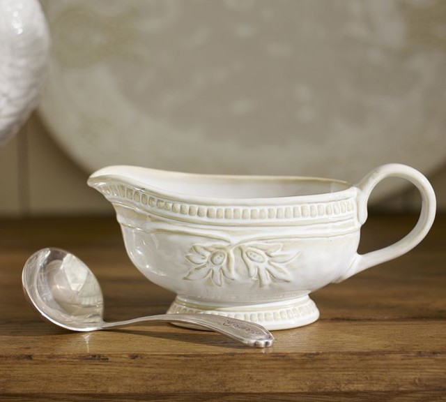 Traditional Gravy Boats by Pottery Barn