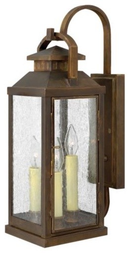 Revere Outdoor Wall Sconce No. 1185 by Hinkley Lighting traditional-outdoor-lighting