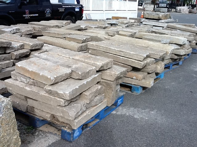 "Reclaimed  3.5"" – 4"" Maine Paving Material / Junior Curbing traditional"