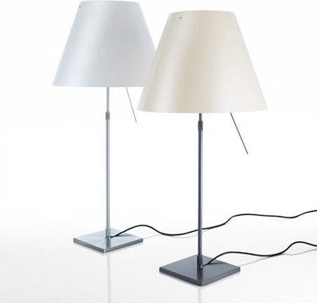 Costanza Table Lamp with Sensor Dimmer - Shade Included modern-table-lamps
