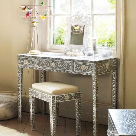 Maxi Mother-of-Pearl Console Table - Traditional - Console Tables - by Graham and Green