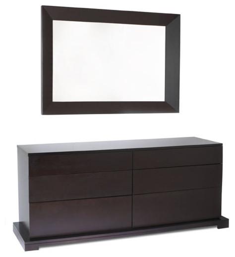 950 series dresser without mirror modern dressers