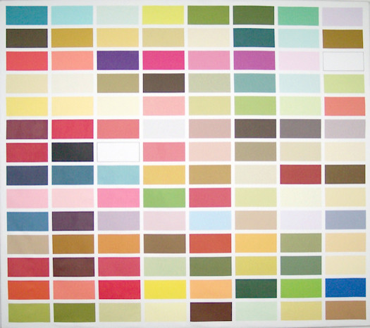Asian Paints Color Code http://www.houzz.com/photos/142336/Color-Chart-wall-hanging-modern-artwork-
