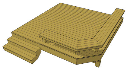 Deck plans free to download - Traditional - atlanta - by decks.com