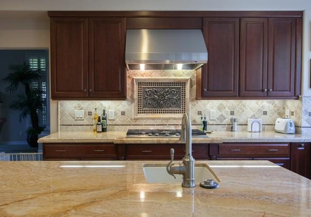 Simi Valley Residence modern-kitchen-sinks