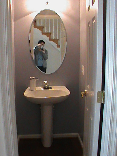 Need Lighting Mirror Fixtures Ideas And Paint Color For
