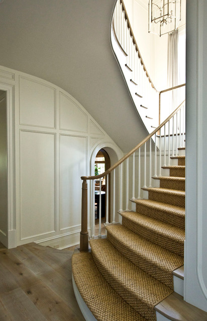 (1) Manor Residence traditional-staircase