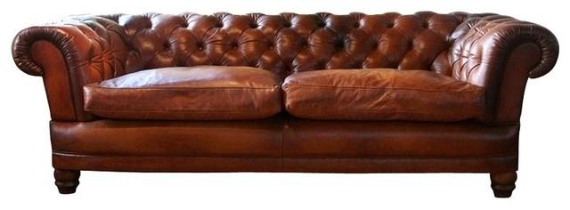 Chatsworth Grand Leather Sofa traditional-sofas