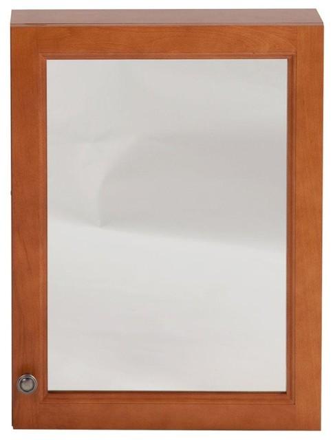 Glacier Bay Cabinets Chelsea 18 in. x 24 in. Surface-Mount Medicine Cabinet in - Contemporary ...