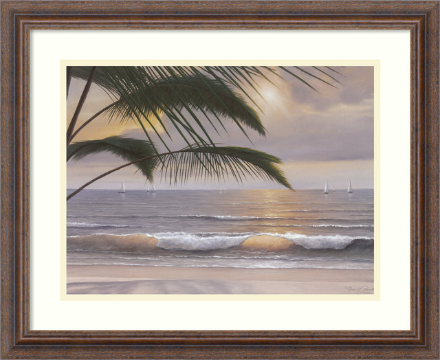 Paradiso Framed Print by Diane Romanello traditional-prints-and-posters