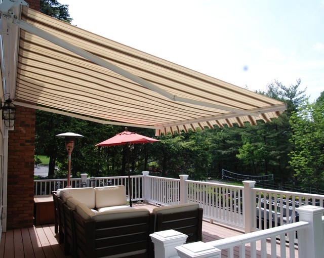striped awnings by breslow outdoor umbrellas