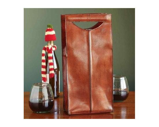 Double Take Wine Tote -