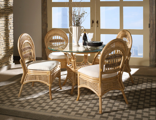 rattan dining set tropical breeze tropical furniture